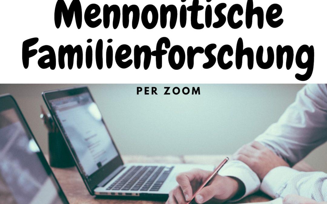 Genealogie und Genetik in der Mennonitischen Familienforschung